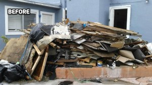 Home debris removal in Miami, FL